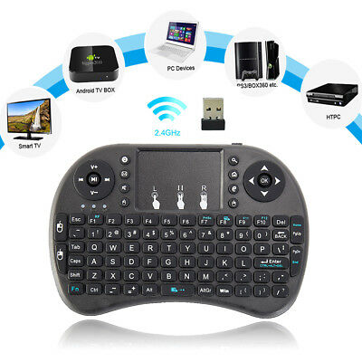 2.4GHz  Mini Wireless Keyboard Fly Air Mouse Touchpad For Android & Smart TV Box