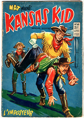 NAT PRESENTE : KANSAS KID n°68 ¤ 1956 ¤ PERIODIQUES EDITIONS ILLUSTREES