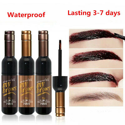 Waterproof  Peel-off Eye Brow Tattoo Tint Dye Gel Eyebrow Cream Long Lasting
