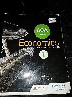 AQA A-Level Economics: Book 1 by Ray Powell 9781471829789 (Paperback, 2015)