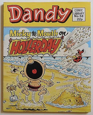 DANDY COMIC LIBRARY #58 - Micky the Mouth