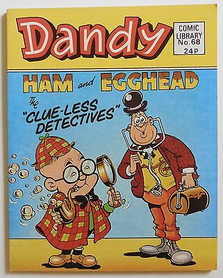 DANDY COMIC LIBRARY #68 - Ham and Egghead