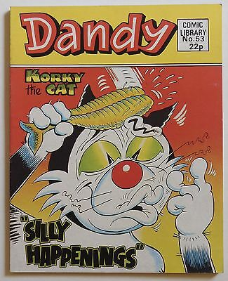 DANDY COMIC LIBRARY #53 - Korky the Cat