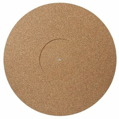 Turntable Record Player Mat Cork Rubber , Record label recess