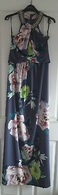 STUNNING BNWT Debut  Long Maxi Dress Party Cocktail Dinner Ball Size 10