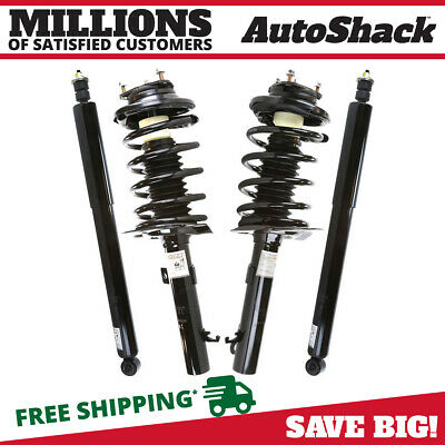 Set of Front Complete Struts & Rear Shock Absorbers fits 2006 2007 Ford Focus