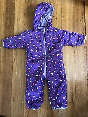 Baby Snow Suit Size 12-18 Months