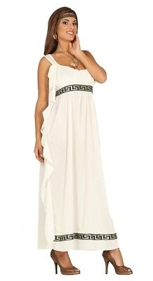 Adult Olympic Goddess Costume Ladies Roman Greek Toga Fancy Dress Outfit