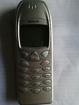 2000 DISCONTINUED OLD STYLE MOBILE PHONE NOKIA 6210 Silver Grey