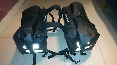 Moonsoon 2 Motorcycle Panniers Saddle Bags Luggage