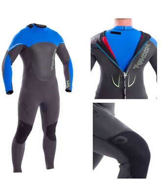 2017/18 Typhoon ZFR Back Zip 5/4/3 MM GBS Mens Wetsuit, Surfing ,Windsurf, Kite
