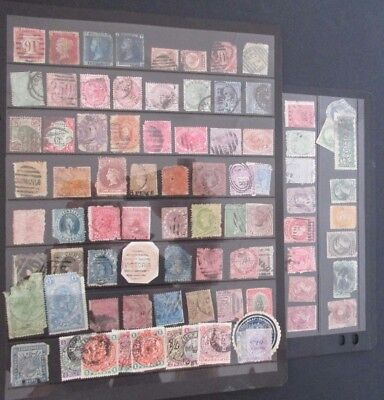 British Empire - Qvic Collection On Large Stocksheet - Unchecked