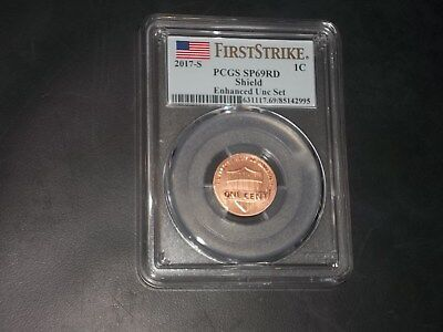 2017 S 1C Lincoln Cent Enhanced Pcgs Sp69 First Strike