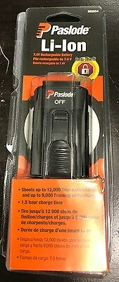 (A) Paslode 902654 LI-ION Rechargeable Battery 7.4V