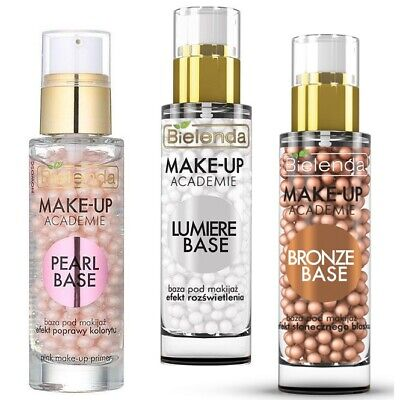 Bielenda Make Up Academie Base Make Up Primer 30g - Bronze Pearl Lumiere