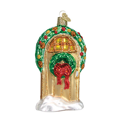 """""""Welcome"""" (Door) (20034) Old World Christmas Ornament w/OWC Box"""