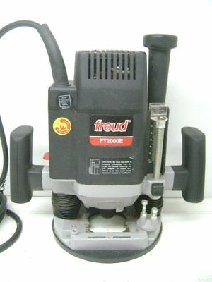 """Freud Ft2000E 1/2"""" 3 1/4 Hp Variable Speed Router, 10,000 To 22,000 Rpm"""