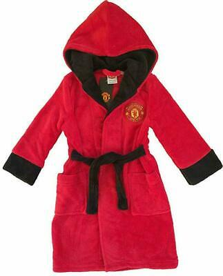 Manchester Man United kids dressing gown / Childrens bathrobe (boys child robe