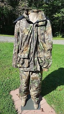 Rocky Prohunter 4 in 1 Parka Jacket and Pants Mens Size XL - Preowned