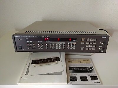 Philips PM 5193 Programmierbarer Synthesizer / Funktionsgenerator 0,1mHz - 50MHz