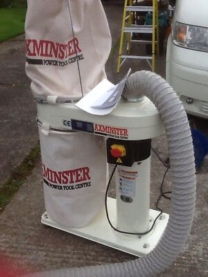 Dust And Chip Extractor. Axminster ADE 1100. Used But Good Condition