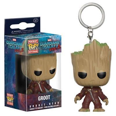 """GUARDIANS GALAXY 2 Official 1.5"""" BABY GROOT Ravagers Pocket POP! Keychain"""