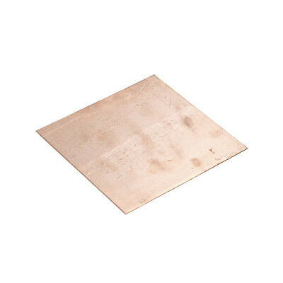 99.9% Pure Copper Cu Metal Sheet Plate 0.8mm*100mm*100mm FF