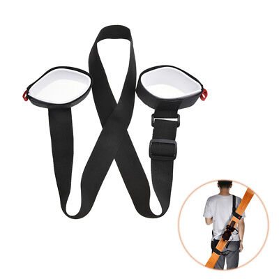 Adjustable Ski Board Carrier Shoulder Belt Snowboard Fixed Straps Carry Bandage