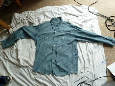 Vintage Royal Navy? Chambray  Shirt Unissued? Rn 14016 Lot 53374 Size 17