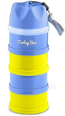 Tootsy Boo Formula Milk Powder Dispenser And Snack Container - 4 Feeds, No and
