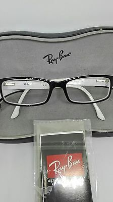 Ray Ban Original Brillengestell Fassung Black & White RB 5114 - 52#16 - 135