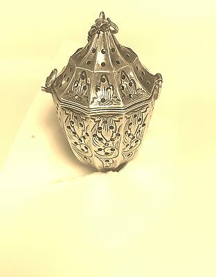 BEAUTIFUL RARE WEBSTER  Sterling Silver Tea INFUSER