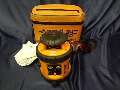 Johnson Acculine Pro Self Leveling Rotary Level Laser - Model 40-6515