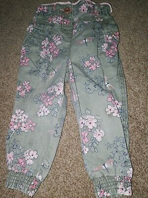 Girls floral casual trousers 12-18months