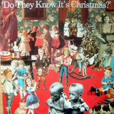 """BAND AID-Do They Know It's Christmas? 12"""" (1984) Mercury Holland"""