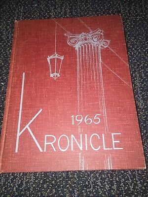 1965 Keene State College University Yearbook Annual  New Hampshire   -Ref. 6-3