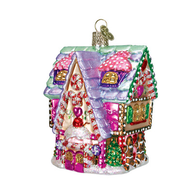 """""""Cupcake Cottage"""" (20029) Old World Christmas Ornament w/OWC Box"""