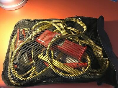 Aircraft Jumper Cables With 3-Pin An2551 / Nato Power Plug