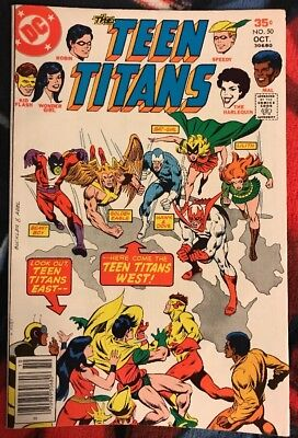 DC TEEN TITANS (1st Series) 50 FN ***$3.98 UNLIMITED SHIPPING***
