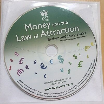 Money and the Law of Attraction by Esther Hicks CD-Audio Book