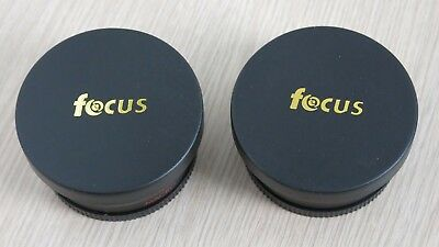 Focus 58mm Telephoto and Wide Angle Lenses - Used