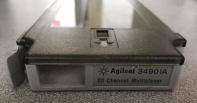 HP Agilent 34901A 20-Channel Multiplexer Module Board Tested Good for 34970A