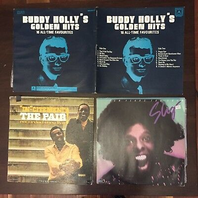 Vinyl records Various  Artists x 9 including a double
