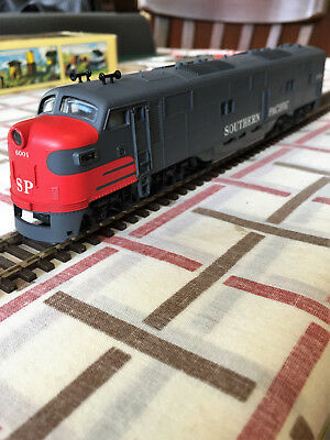 Vintage Con-Cor Ho Gauge Southern Pacific Emd E-7A #6001. Near Mint In Box.