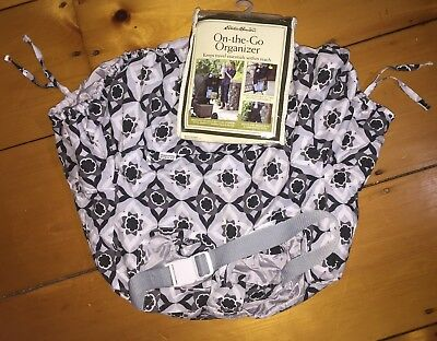 EDDIE BAUER ~JJ COLE ~ NEW! Baby On The Go Organizer & Cart Cover ~ Set Lot Of 2