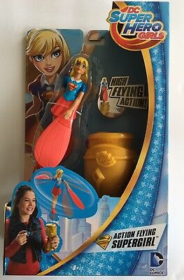 DC Super Hero Girls Action Flying Supergirl Figure Figurine 6 Inch NEW NIP Comic