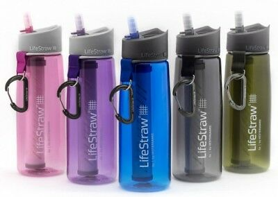LifeStraw Go Personal Water Filter Bottle Purifier- 2 Stage Filtration