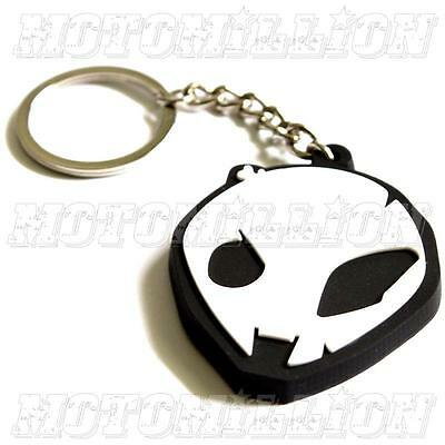 BMW S1000RR S1000R Alien Head Key Chain Fob Ring HP4 Motorsport