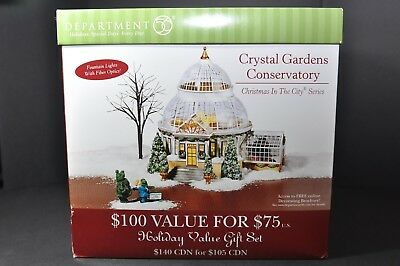 DEPT 56 Christmas in the City Crystal Garden Conservatory 56-59219