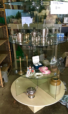 Glass shop display cabinet/ case